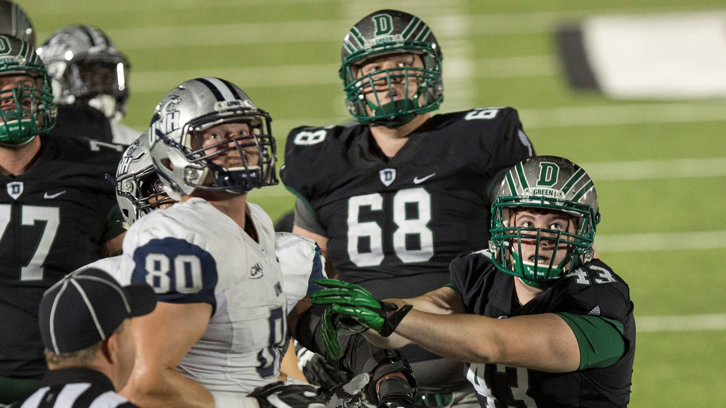 Dartmouth Unh Renew Rivalry On Gridiron Dartmouth College Athletics