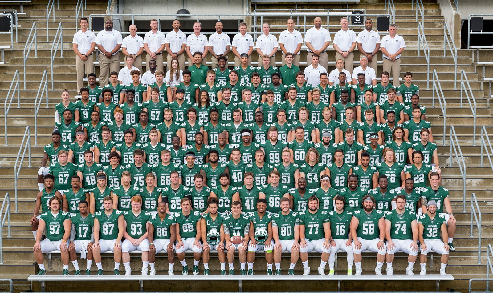 2017 Football Roster Dartmouth College Athletics