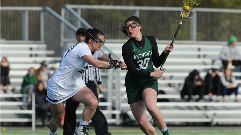 Dartmouth Erases Late Deficit But Falls in Double Overtime at Michigan - Dartmouth College Athletics