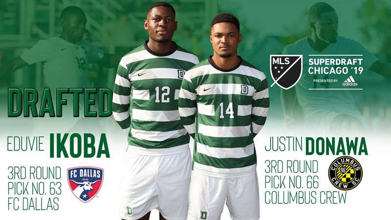 Ikoba and Donawa Selected in MLS Draft - Dartmouth College Athletics
