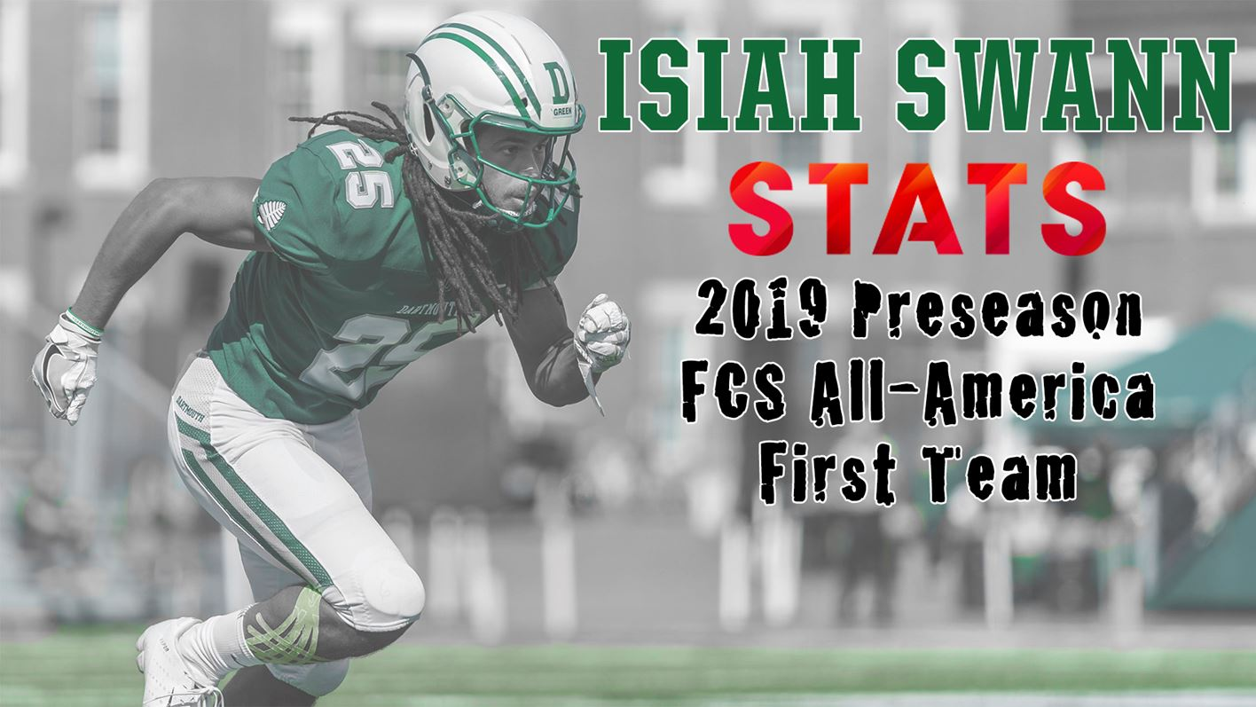 Swann Named to STATS FCS Preseason All-America First Team