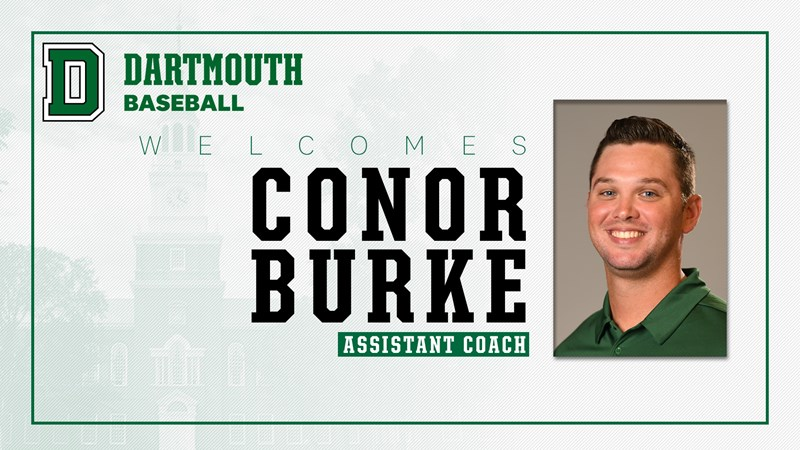 Conor Burke Joins the Baseball Coaching Staff